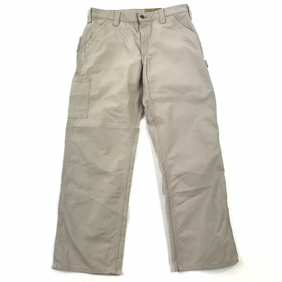 Carhartt Other - NWT Carhartt Canvas Work Dungaree Cargo Pants 34